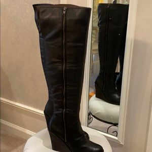 Lucky over the knee boot